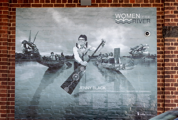 Women of the River Installation